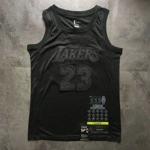 Los Angeles Lakers LeBron James Black MVP Jersey